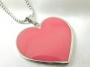 Přívěsek Srdce (růžové) 33mm